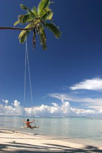 The Beachhouse Resort. Beachouse swing is the largest in the Pacific