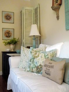 Shabby Chic Living Rooms   Living Room and Dining Room Decorating Ideas and Design   HGTV