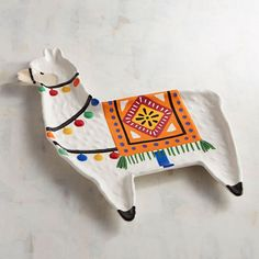 Llama Serving Platter: If you can't get enough of llamas, then here's the perfect piece to add to your collection. Now you just have to figure out what to serve on your new llama platter, or maybe you'll just display it—really, you can't go wrong #ad