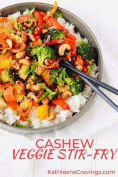 Vegetarian Recipes Dinner, Veggie Recipes, Healthy Recipes, Meatless Dinner Ideas, Plant Based Dinner Recipes, Wok Recipes, Veggie Dinner, Sandwich Recipes, Easy Recipes