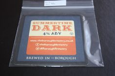 2014 Beermat Borough Brewery (Lancaster)) Cat 002 (1Y55 8/14)