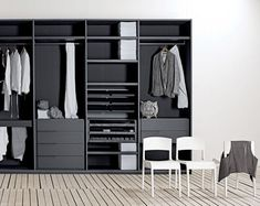 Inspiratif Modern Minimalist Clothing Cupboard on February 04, 2011 @ 02:24: Black clothing cupboard with simple design