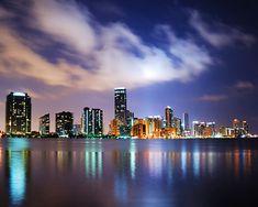 Beautiful shot of #Miami