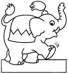 Disegni da colorare per bambini. Colorare e stampa Circo 23