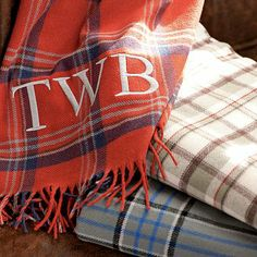 I love the Pendleton For PBteen Eco Wise Throw on pbteen.com