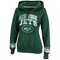 New York Jets NY Women's Hoodie Pullover Sweatshirt