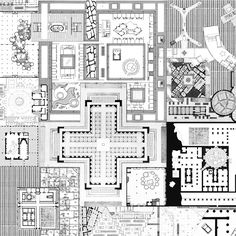 Andrew Kovacs, 'Plan' Archive of Affinities Architecture Drawing Plan, Paper Architecture, Architecture Design, Landscape Architecture, The Plan, How To Plan, Plan Plan, Utopia Dystopia, Plan Drawing