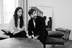 Sarah Linh Tran and Christophe Lemaire