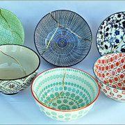 KanelaSuri por KanelaSuri en Etsy Kintsugi, Bowls, Decorative Plates, Etsy, Tableware, Unique Jewelry, Handmade Gifts, Vintage, Store