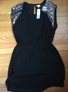 Stitchfix pixley dress  OBSESSED!!!! Love that it's black with the hint of silver. Would love to see this soon