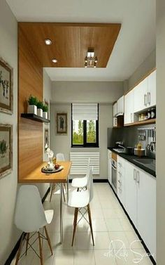 Modern Kitchen Interior Remodeling Don't really feel limited by a small kitchen area. These 50 layouts for smaller sized kitchen rooms to inspire you to take advantage of your own tiny kitchen Kitchen Remodel, Kitchen Design, Kitchen Decor, Simple Kitchen Design, Modern Kitchen, Small Kitchen Tables, Kitchen, Kitchen Room, Kitchen Interior