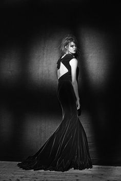 """The Art of Azzedine Alaïa'-Lindsey Wixson-in Azzedine Alaïa-by Peter Lindbergh--""""Alaia"""" Exhibition-at The Palais Galliera (Museum of Fashion), Paris-until January 26th, 2014"""