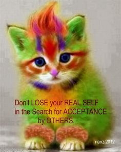 Don't Lose Your Real Self