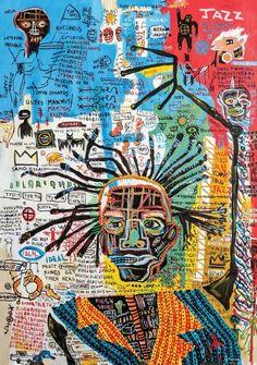 These Pop Art Artists Got Us Completely Swept Away! Art Inspo, Jean Michel Basquiat Art, Jean Basquiat, Basquiat Paintings, Pop Art, Art Du Collage, Kunst Tattoos, Ouvrages D'art, Art Et Illustration