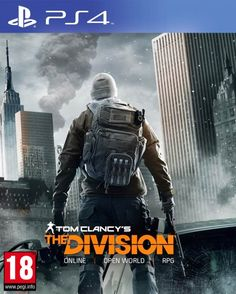 COMING SOON 2016// Created by Ubisoft/ Platforms: PS4-XBOX ONE- MICRO WINDOWS// single and multiplayer// Tom Clancy's The Division is an upcoming open world third-person shooter role-playing video game with survival elements.