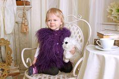 Жилетка из ламы для моей маленькой принцессы, kirovmex.ru