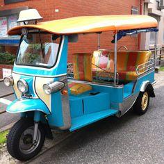 I remember Tuk Tuks in Thailand