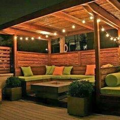 33 beautiful diy pergola design ideas - Room a Holic Small Backyard Patio, Backyard Patio Designs, Backyard Fences, Pergola Designs, Diy Patio, Backyard Landscaping, Landscaping Ideas, Patio Steps, Patio Fence