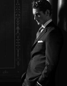 Pinstripe #suit #menswear