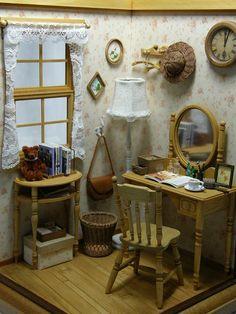 少女の部屋の画像 - ヒナぞー ミニチュア&ドールハウス -