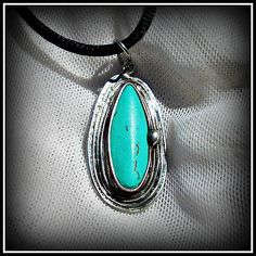 Turquoise pendant / SOLD /