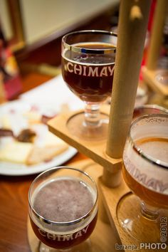 Chimay Flight Tasting