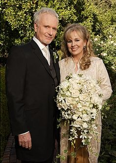 Luke and Laura on their 2006 wedding day
