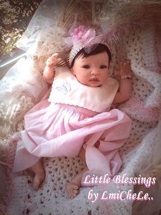 From the Shyann Kit  Reborn Baby Doll 19 by LittleBlessingsFaith, $159.00