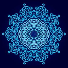 traditional Persian-Arabic-Turkish-Islamic Pattern  photo
