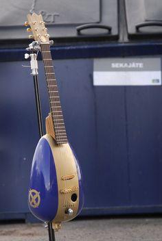 Gas tank guitar