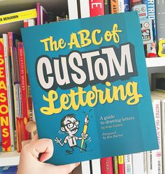Perfect  day to dip into @ivancastrolettering guide to #lettering  published by @koreropress w foreword by @typelettering Def the most comprehensive guide on custom lettering packed full of tips and tuts! Love it! #customlettering #theabcofcustomlettering #ivancastro #bookstagram #typography