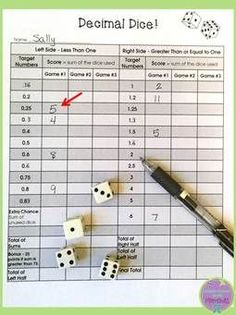 Great game to practice fraction to decimal conversions!