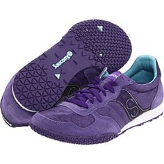 Awesome purple shoes like the ones I bought every year when I was a kid, ha! LOVE! Zappos.com, $55