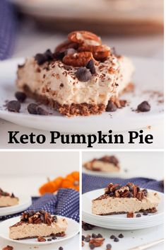 If you are looking for the perfect Keto Pumpkin pie, you won't want to miss this one. Rest easy knowing that your holiday dessert is keto-friendly! This low-carb pumpkin pie is the perfect holiday…More Awesome Keto Friendly Dessert Ideas Low Carb Sweets, Low Carb Desserts, Low Carb Recipes, Low Carb Pumpkin Pie, Pumpkin Pie Recipes, Keto Snacks, Snack Recipes, Dessert Recipes, Dessert Ideas