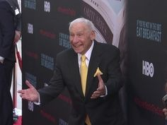 Mel Brooks, Dick Van Dyke attend premiere of documentary about happy, he...