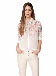Imixcity Women's T-shirt Toplong Sleeve See-through Flower Size S Imixcity, To BUY or SEE just CLICK on AMAZON right here http://www.amazon.com/dp/B00FVRO4L8/ref=cm_sw_r_pi_dp_EAmutb0D7REWJBXY