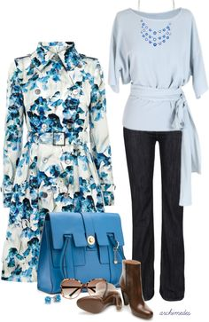 """""""A Little Blue"""" by archimedes16 on Polyvore"""