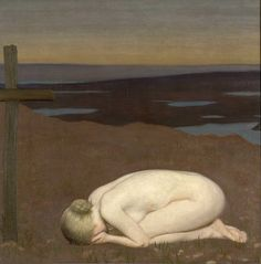 Youth Mourning1916 Clausen, George (Sir) (RA) | France | Imperial War Museums
