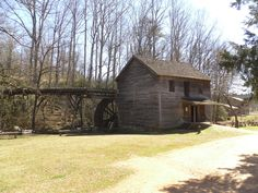 Hagood Mill  Built in 1845, Pickens County, S.C.