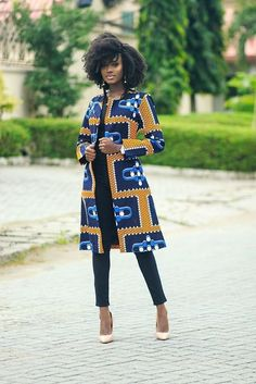 African Fashion Ankara, African Inspired Fashion, Latest African Fashion Dresses, African Dresses For Women, African Print Fashion, Africa Fashion, African Attire, Fashion Prints, African Prints
