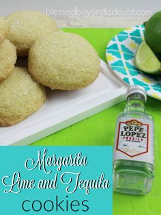 Margarita Lime and Tequila Cookie recipe are a MUST at any fiesta. They are moist and so flavorful. My whole gang adores them anytime I make them as a treat. I don't typically have tequila around my home, so I buy the cheapest one at the liquor store. The alcohol from the tequila cooks downduring baking, so no need to worry about serving them to the younger crowd. How to make the Margarita Lime Tequila Cookie Recipe Ingredients 3 cups all-purpose  {Read More}