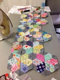 Jewel flowers made w