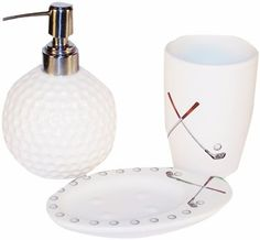 Golf Gifts Gallery Clubhouse Collection Bathroom D Cor Set By Golf Gifts Gallery 24 99