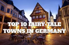 Germany has a plethora of historic towns, sprinkled all around the country. Here are our ten choices of great picturesque towns, that make for a great weekend trip.