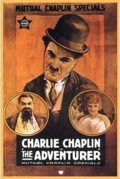 The Adventurer (Charlie Chaplin, Eric Campbell, Edna Purvience, Mutual, 1917)