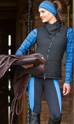 Flow Rise Kneepatch Performance Riding Tight | For year-round riding performance; this indescribably soft lightweight tight is a great base layer in cold weather.