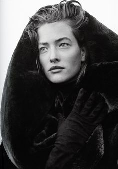 Inspiration / Tatjana Patitz by Peter Lindbergh