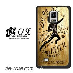 My Chemical Romance Lyrics DEAL-7538 Samsung Phonecase Cover For Samsung Galaxy Note Edge