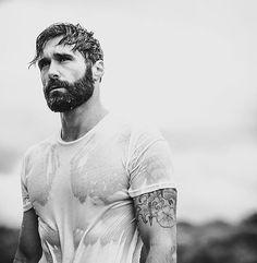 33 trending beard styles for men 31 Trending Beard Styles, Beard Styles For Men, Hair And Beard Styles, Great Beards, Awesome Beards, Hairy Men, Bearded Men, Hot Men, Sexy Bart