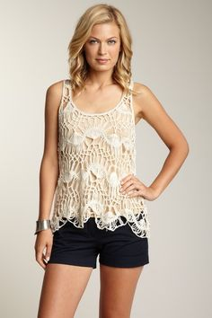Sweet woven knitted pattern 1/2 off